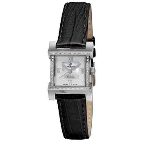 Christina Watches forgyldt dameur med 0,05 carat diamanter, 142-2SWBL